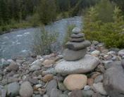 The Teanaway River Biosphere Rock Cairn !